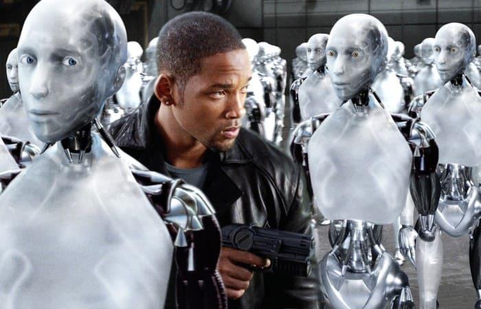 Кадр из фильма *Я, робот*, 2004 | Фото: asimovonline.ru