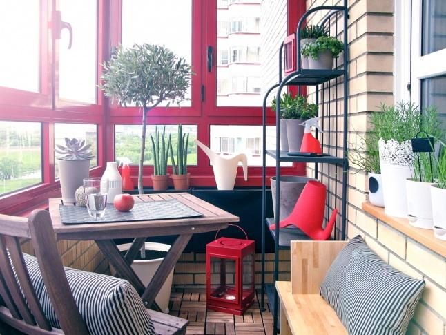Интересные интерьеры балконов балкон, дизайн, интерьер, ремонт