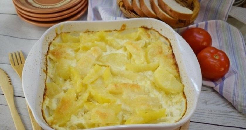 Английская картошка:  простые ингредиенты и нежный вкус