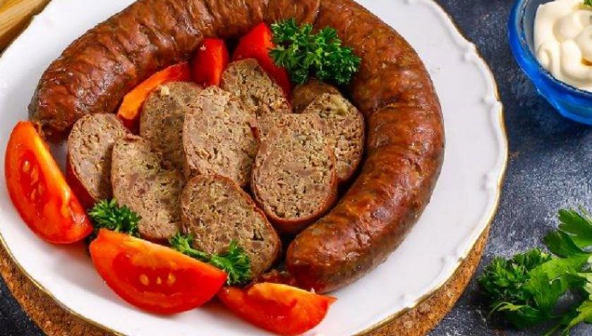 Ливерная колбаса из куриных потрохов: вкуснее не придумаешь