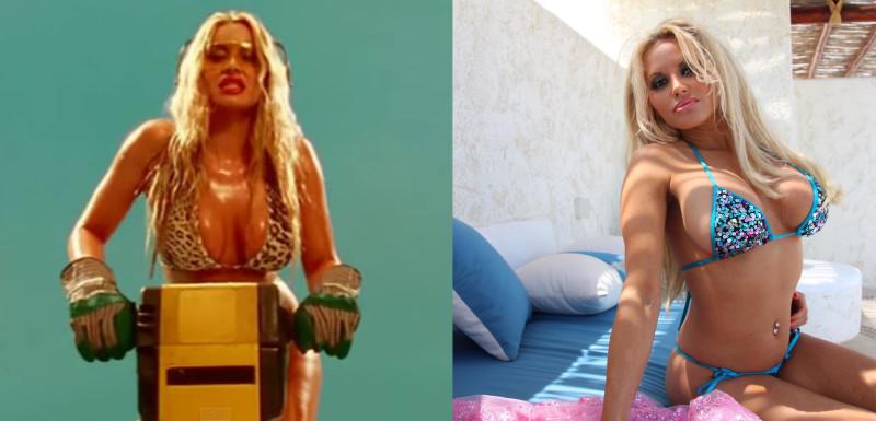 Горячие штучки из клипа Satisfaction 15 лет спустя