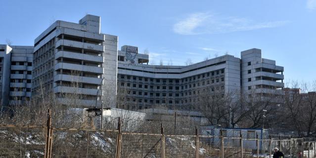 Снос недостроенной Ховринской больницы могут начать в ноябре