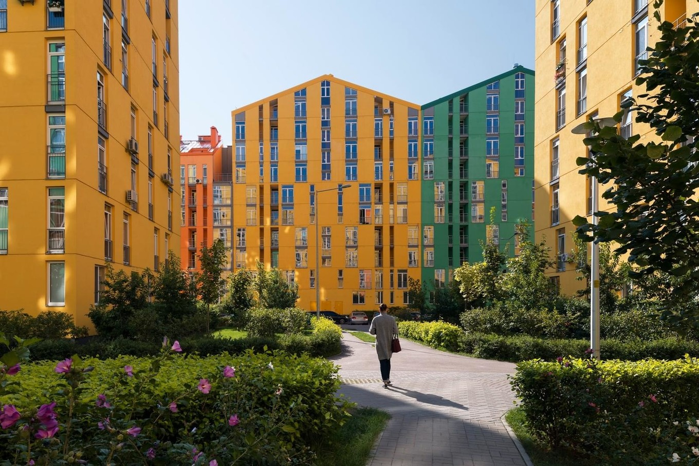 Жилой квартал Комфорт Таун в Киеве