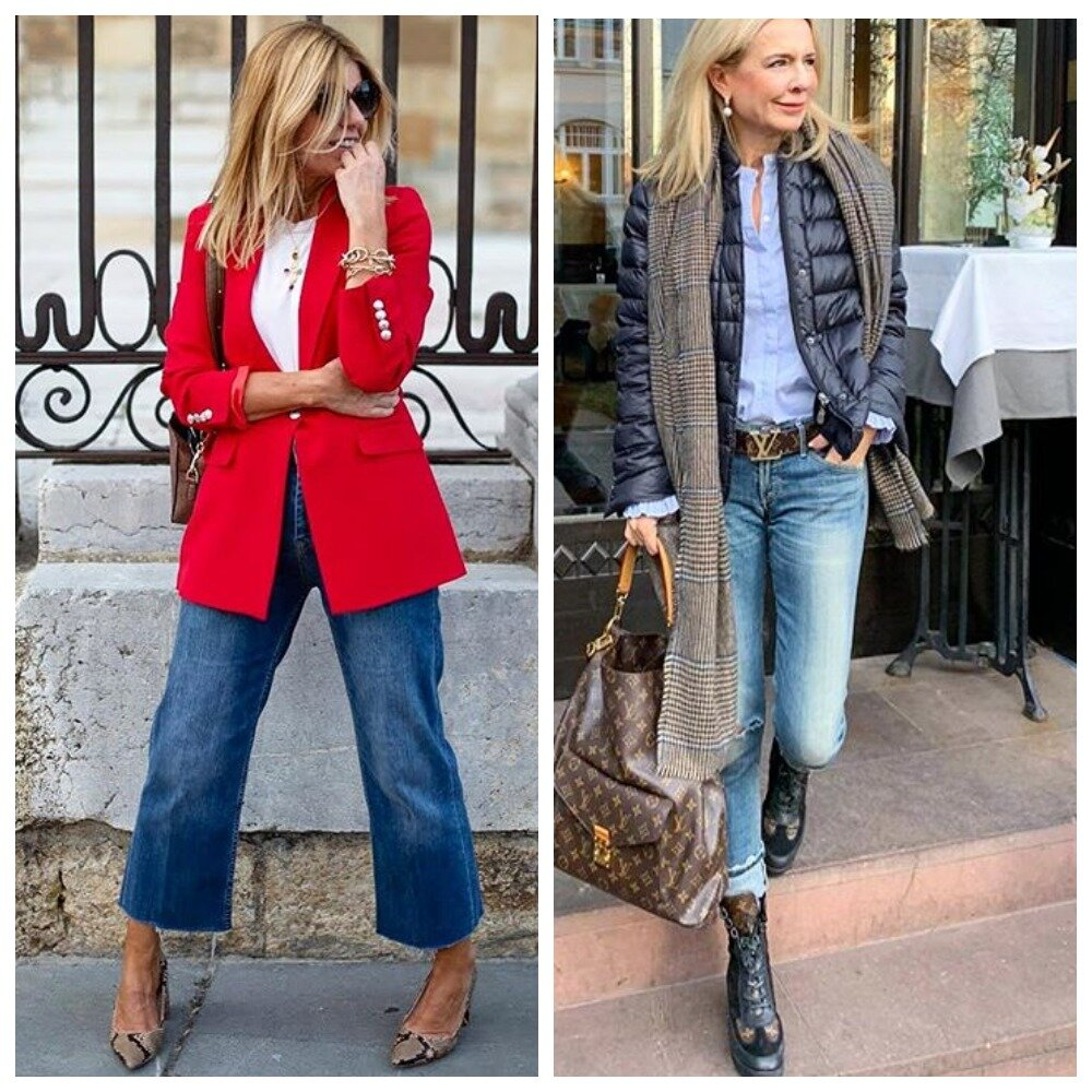 Не стоит ходить в джинсах женщинам с кривыми ногами и очень худым женщинам