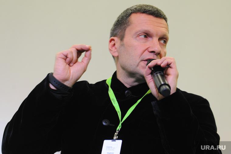 Владимир Соловьев заплакал во время эфира. общество,россияне,соловьев