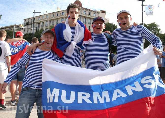Почему победа русских фанатов в марсельском порту это круто!