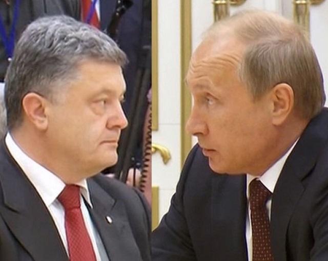 «Альтернативы нет»: Путин объяснил Порошенко, как урегулировать конфликт в Донбассе