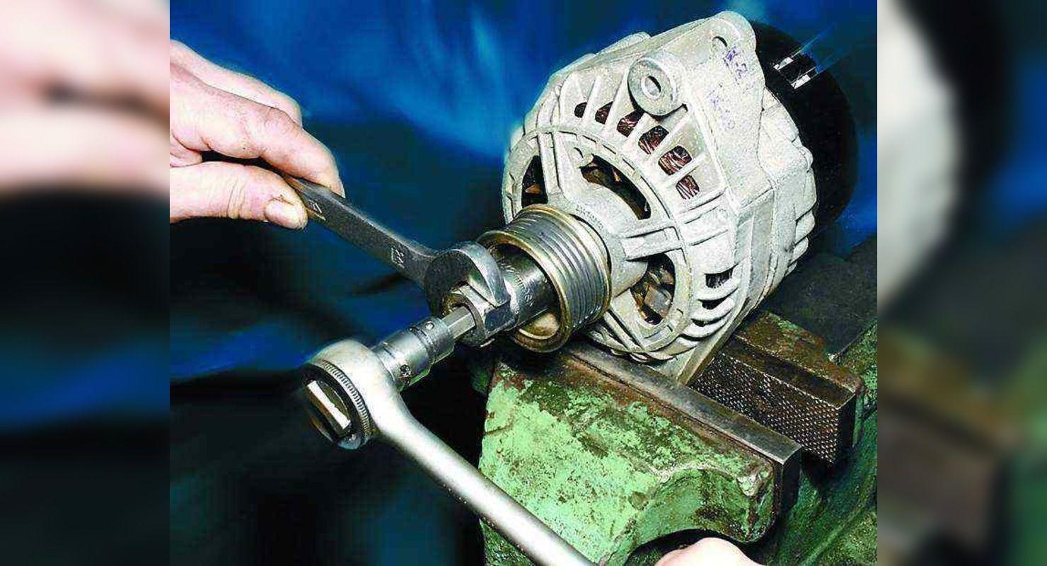 Как самостоятельно заменить старый неисправный генератор на новый Автограмота