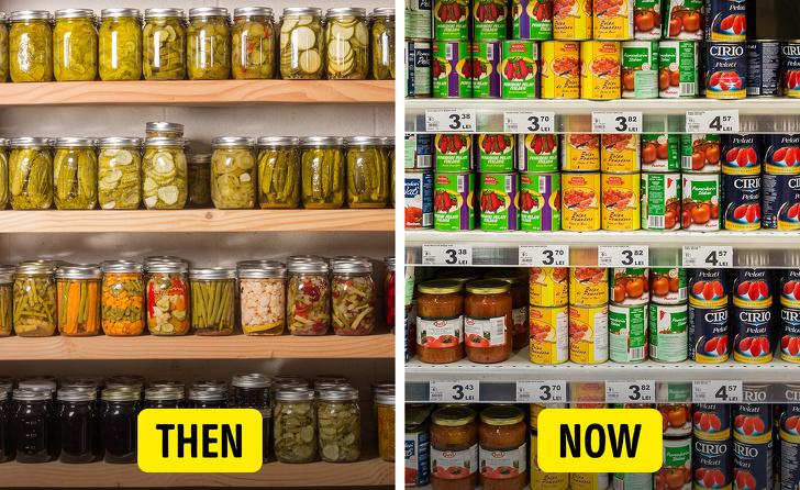 Факты о привычных продуктах, которые когда-то выглядели совсем иначе