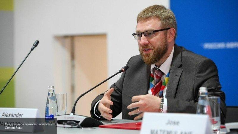 Малькевич призвал Россию возглавить борьбу за свободу слова в соцсетях