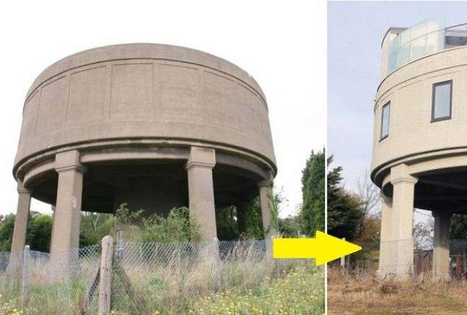 Из заброшенной полуразвалившейся конструкции мужчина сделал роскошный дом
