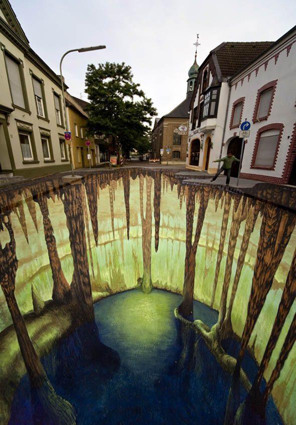 Тротуарная живопись
