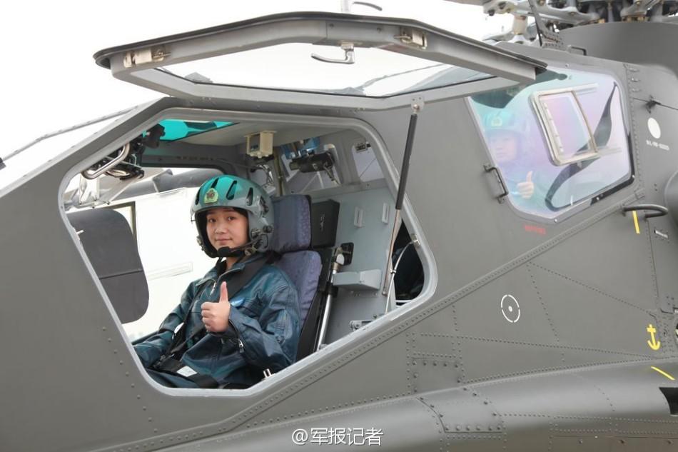 Первая группа женщин-пилотов ударных вертолетов сформирована в НОАК