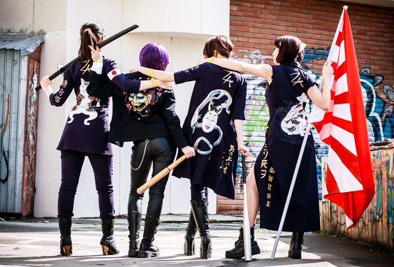 Пятерка знаменитых женских банд
