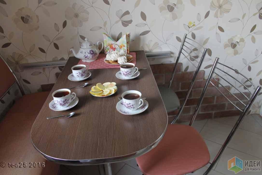 Радостная кухня или история ремонта кухни площадью 5,4 кв.м