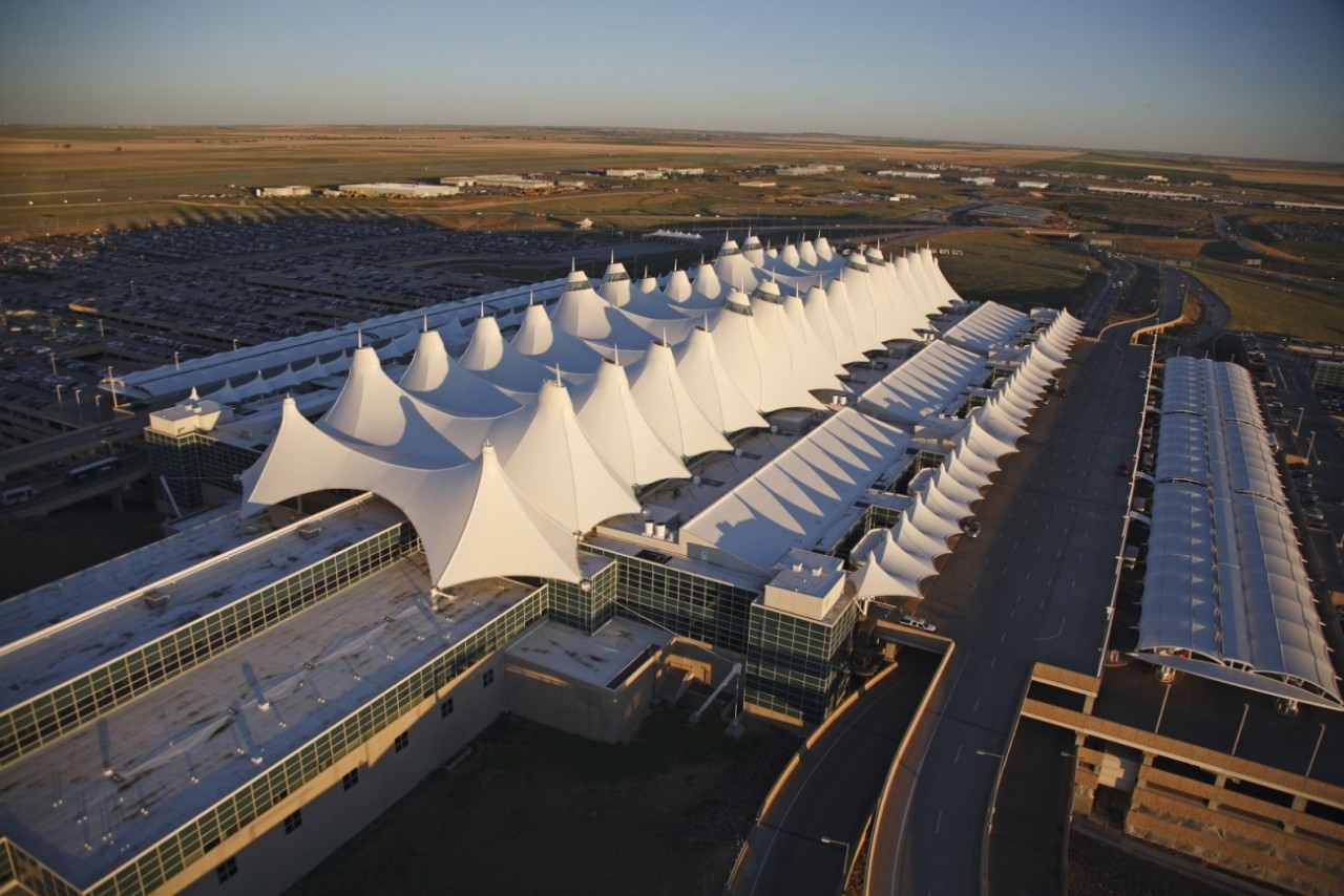 Denver International Airport IATA DEN ICAO KDEN FAA LID DEN locally referred to as DIA is an international airport primarily serving metropolitan Denver