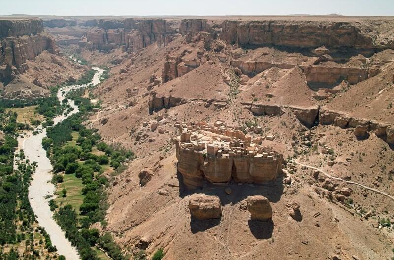 Йемен: города и деревни на камне
