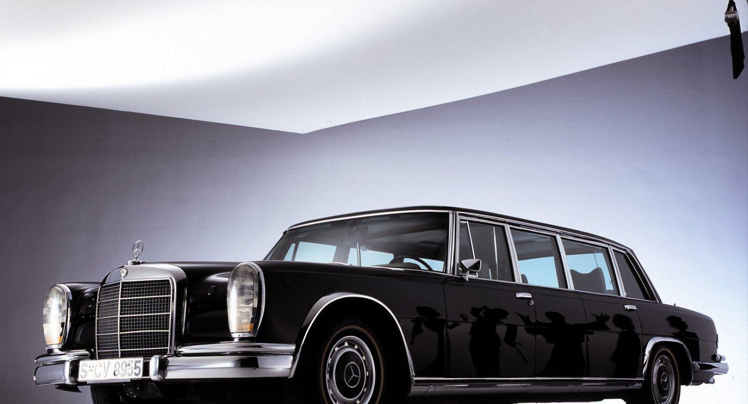 Самый престижный автомобиль коллекции Брежнева - Mercedes-Benz 600 Pullman Автомобили