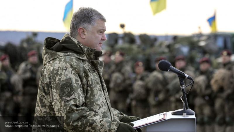"""Порошенко заявил, что не будет продлевать военное положение при отсутствии российской """"агрессии"""""""