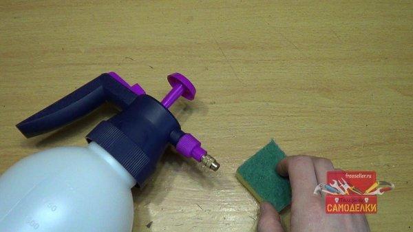 Материалы для изготовления самодельного пеногенератора