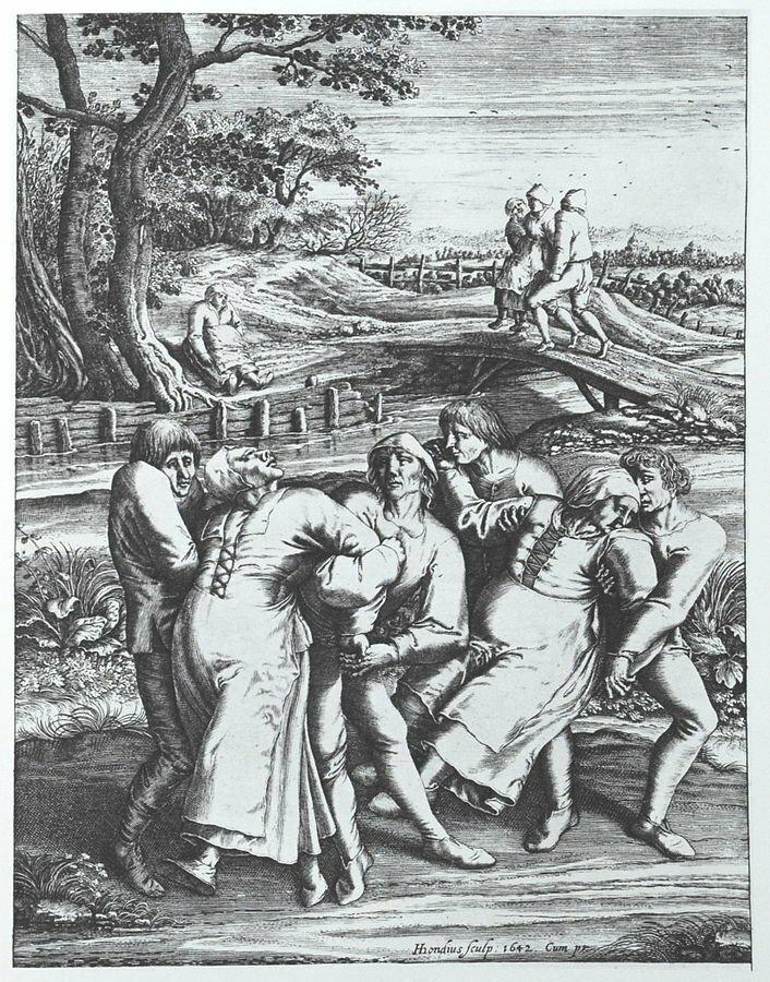 5. Танцевальная чума в мире, загадки, интересно, исторические события, история, странные вещи, тайны, факты