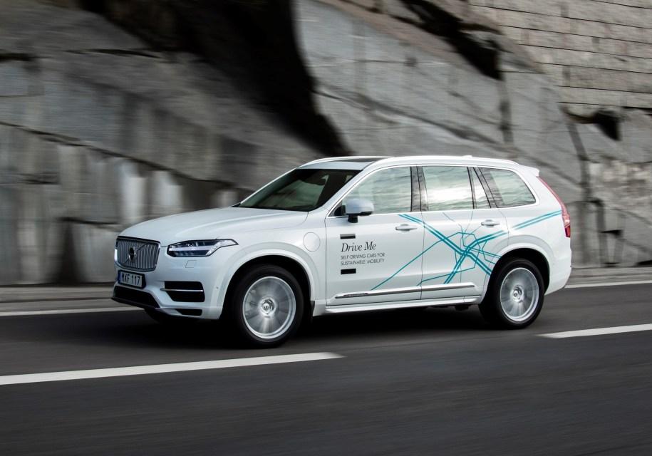 Беспилотники Volvo оснастят …