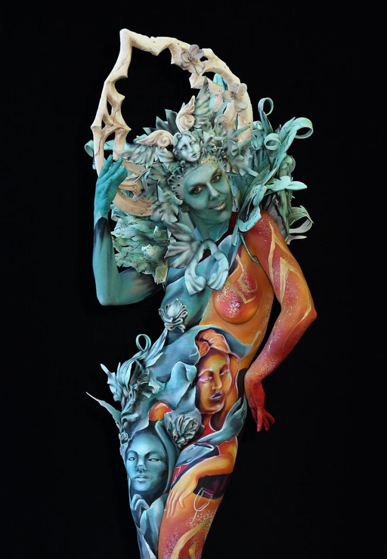 всемирный фестиваль боди-арта 2018, World bodypainting festival 2018
