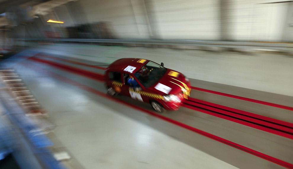 Краш-тесты автомобилей в фотографиях