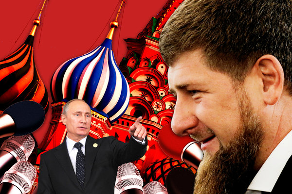 """Глава Чечни считает, что Идлиб необходимо зачистить. Фото: thedailybeast.com + коллаж """"Военкора"""""""
