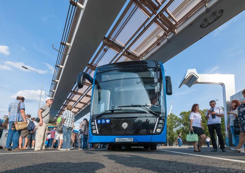 Электробусы приобретают популярность в Москве