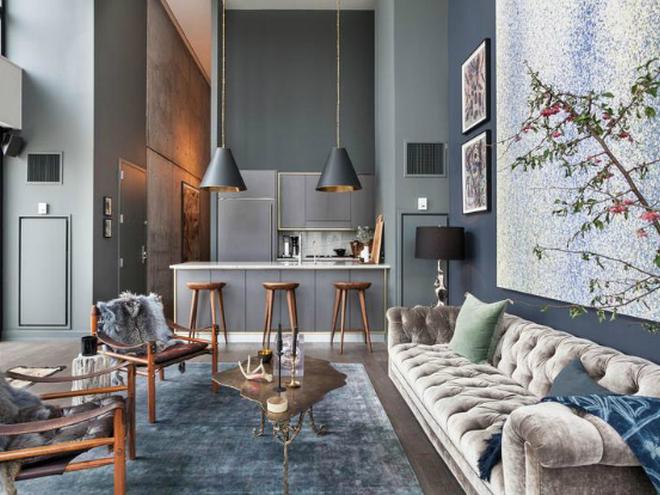 Стильные апартаменты в Нью-Йорке: молодежная эклектика