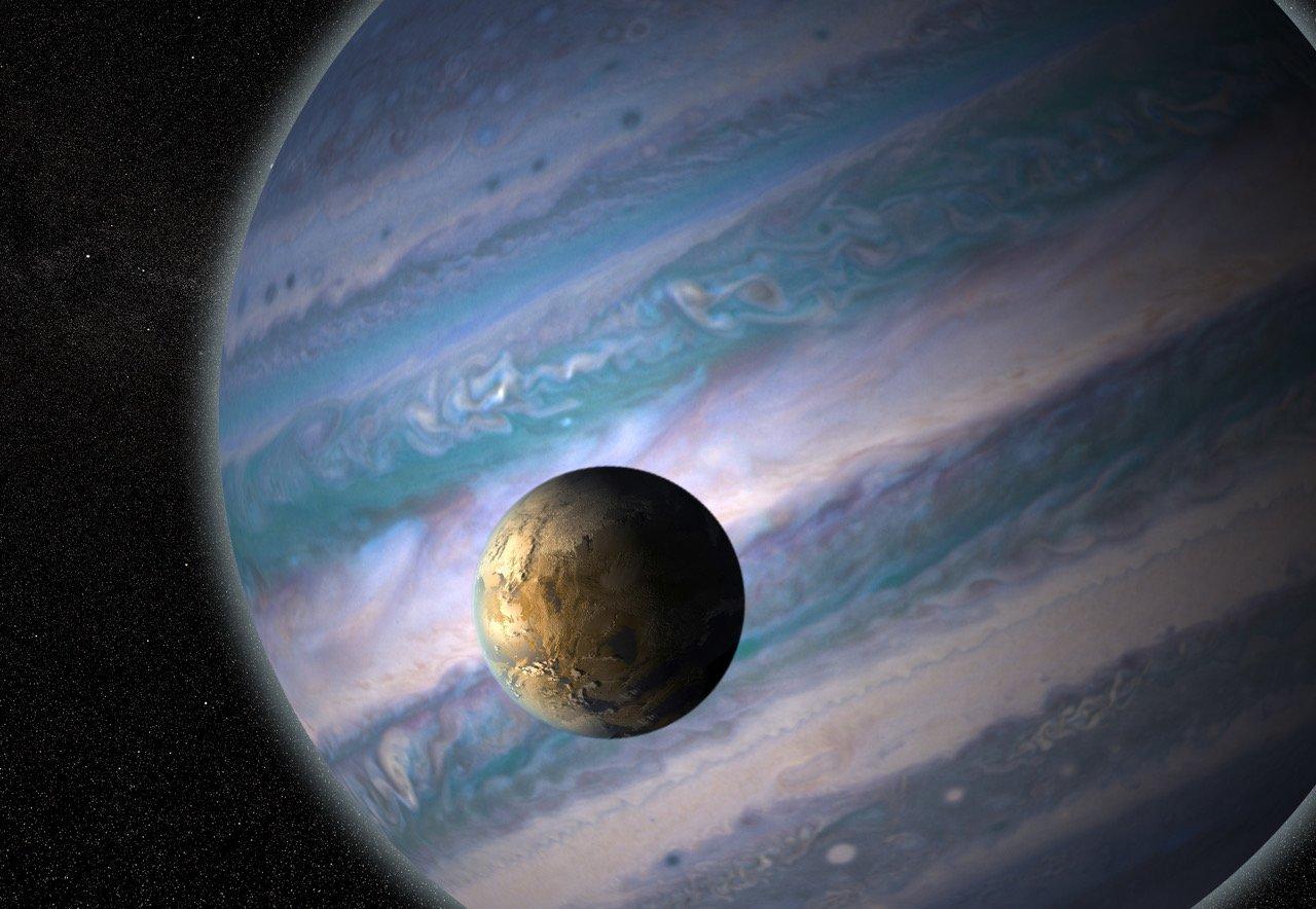 Обнаружена еще 121 планета с возможно обитаемыми спутниками