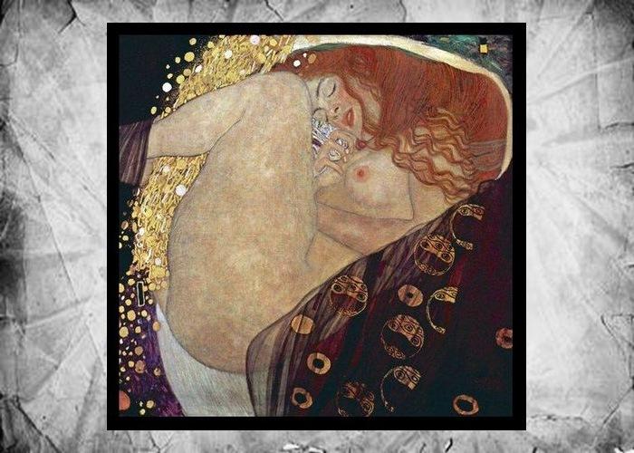 Фрагмент картины Густава Климта «Даная», 1907-1908 год.