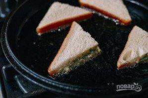 Гренки с креветками по-китайски - фото шаг 5