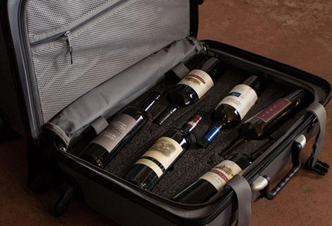 Как возить вино в самолете
