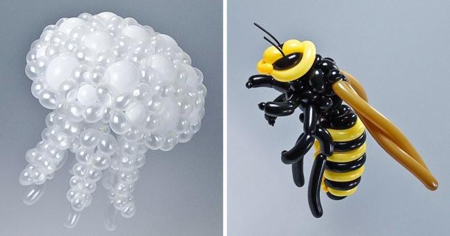 Японский художник создает жи…