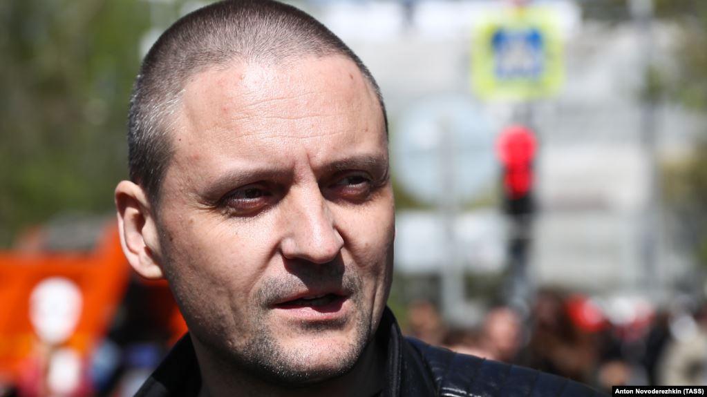 Удальцов, Гиркин, Квачков привели активистов к Администрации президента