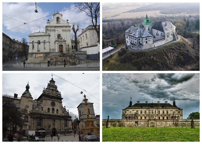 Старинные костелы и замки попали в кадр киноленты «Д'Артаньян и три мушкетера» (Львов, Львовская область).