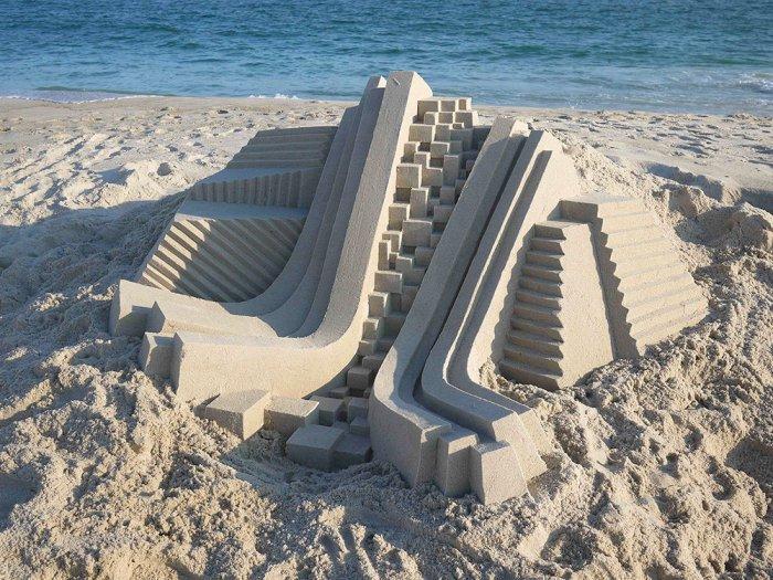 Пляжная архитектура Келвина Сейберта