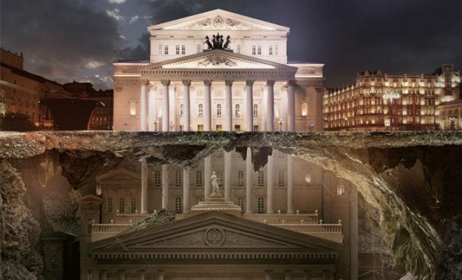 27 метров вниз: археологи уверены, Большой Театр закопан Архитектура,большой театр,Большой Театр закопан,закопанные города,наука,Пространство,реконструкция