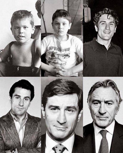 Роберт Де Ниро от мальчишки до величайшего актёра. история, люди, мир, фото