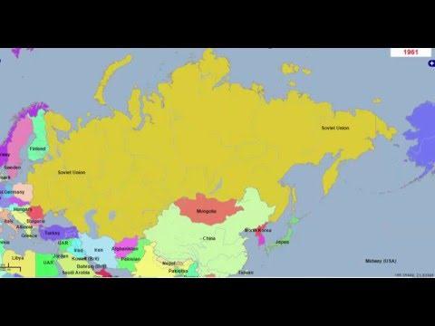 1200 лет истории России, Украины, Беларусии, Казахстана за 2 минуты