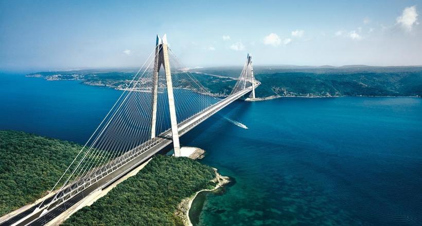 Мост султана Селима Явуза че…