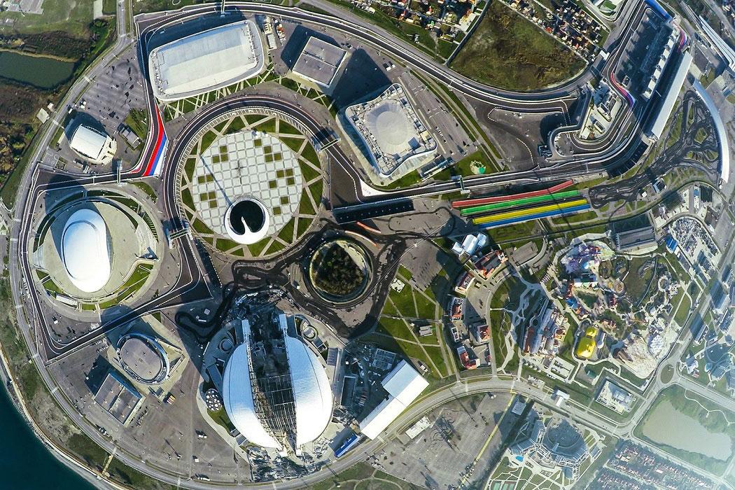 того, многие фото олимпийский парк сочи вид сверху что