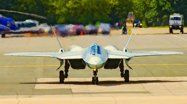 Иностранцы о прибытии Су-57 в Сирию: «Россия великолепно использует угрозы со стороны США, против их же намерений»
