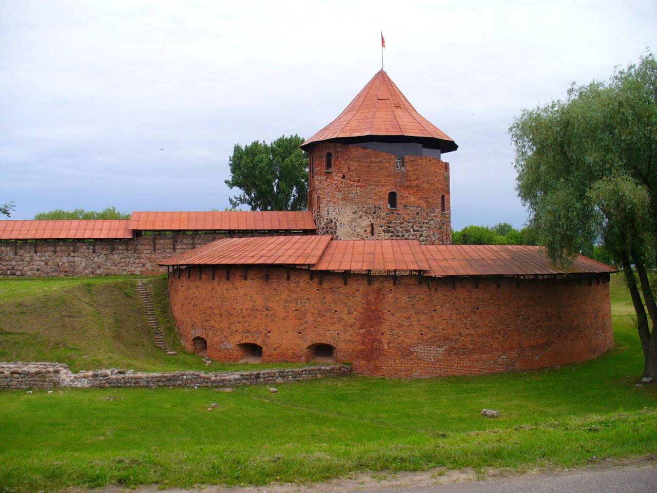 Литовская средневековая крепость.