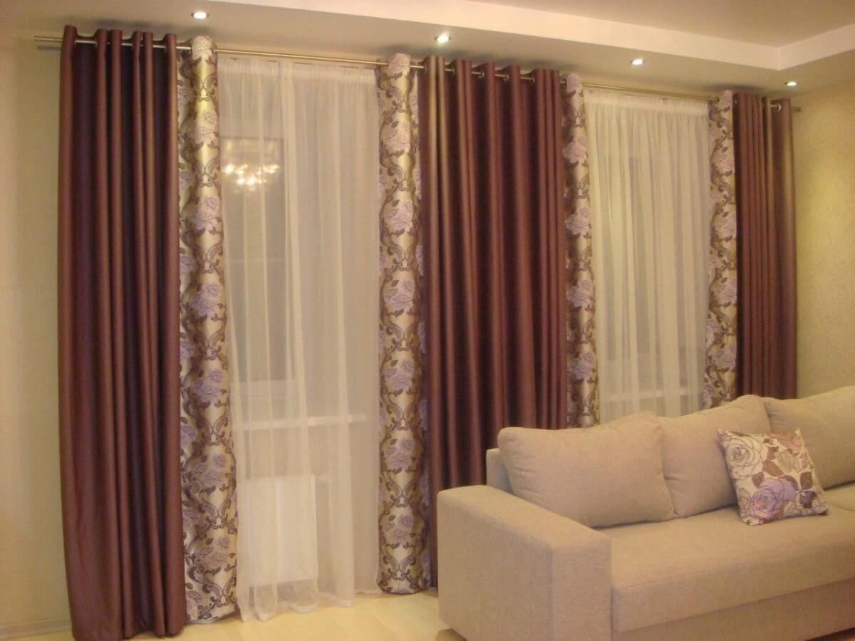 картинки ночные шторы в зал приобрести