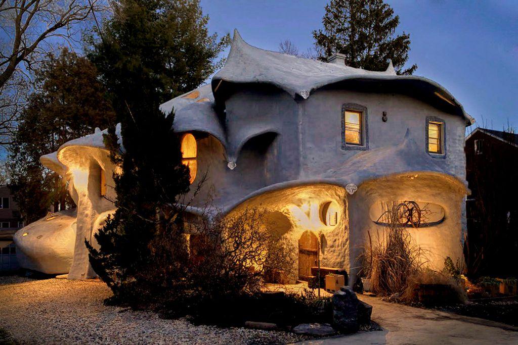 Необычный дом-гриб в Мэриленде