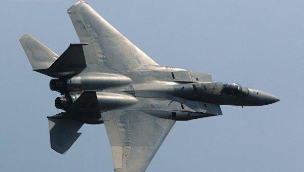У берегов Японии потерпел крушение американский истребитель
