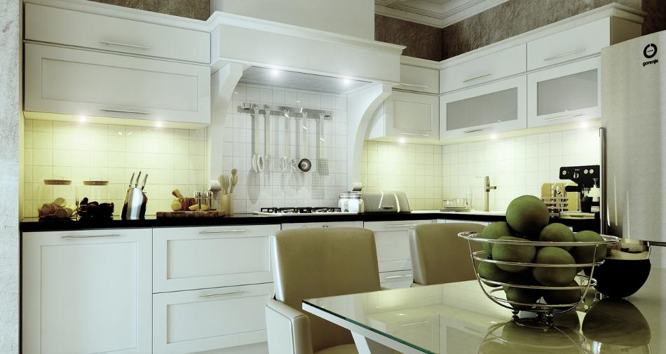 Дизайн-проект кухни от Виталия Святюка